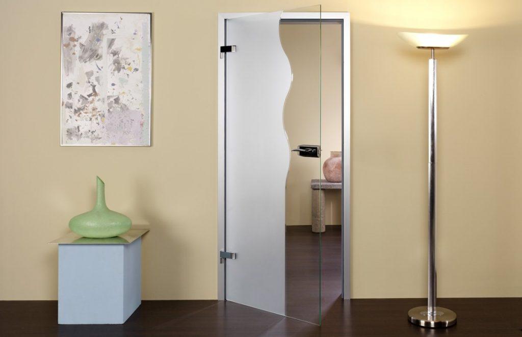 Где можно купить стеклянные двери недорого? фото